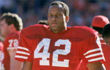 About Thomas R. Williams - Published Author, Public Speaker, Ronnie Lott